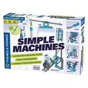 Thames & Kosmos Simple Machines Science Experiment & Model Building Kit, Introducción a la física mecánica, construye 26 Modelos para investigar Las 6 máquinas clásicas Simples