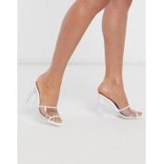 ALDO Lucie heeled sandal in bright white - female - White - Size: 4