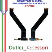 Flat Connettore Usb Ricarica Dock per Samsung Galaxy Tab 10.1 3G P7500 ORIGINALE