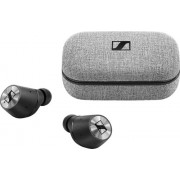 Sennheiser - MOMENTUM True Wireless Earbud Headphones - Silver/Black