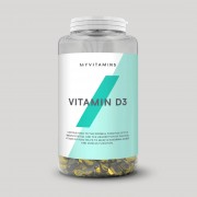 Myvitamins Vitamina D3 em Cápsulas - 180capsules