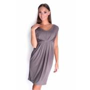 Dámské cappucino šaty 8437