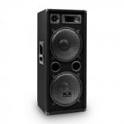 """Malone W-2222 PA DJ Altavoz 3 vias2x 30cm (12"""") 1000W (JO-PW-2222)"""