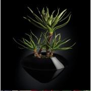 Aranjament floral design LUX, CAIRO IN SHINY VASE, negru 150cm 1141234.96