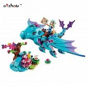 214pcs/set The Water Dragon Adventure Building Block Toys