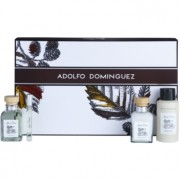 Adolfo Dominguez Agua Fresca coffret VII. Eau de Toilette 120 ml + Eau de Toilette 10 ml + desodorizante em spray 150 ml + bálsamo after shave 120 ml