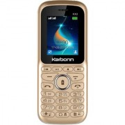 Karbonn KX2 Dual Sim Mobile With 1000 mAh Battery/Digital Camera/Wireless FM/ Torch And Games