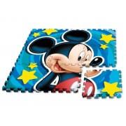 Kids Licensing Suelo Alfombra de Goma EVA Puzzle Mickey, 90 x 90 cm