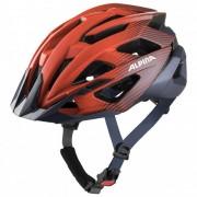 Alpina Valparola Casco per bici (55-59 cm, rosso/nero)