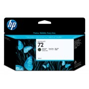 HP 72 130ml Matte Black Ink Cartridge For use in selected printers.