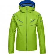 Kjus Boys Jacket Formula DLX lime green