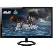 "Monitor Gaming LED Asus 24"" VX248H, Full HD (1920 x 1080), HDMI, 1ms GTG, Boxe, Flicker Free (Negru)"