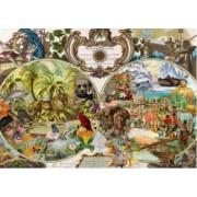 Puzzle Schmidt 2000 Exotic World Map