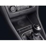 Alpine KCE-G6Qi Caricatore Wireless per VW Golf 5-6 Jetta 5 Scirocco e EOS