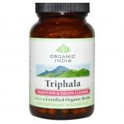 Organic India Triphala - Digestion & Colon Cleanse (90 Veggie Caps) - Organic India