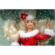 Happy Holidays Gala International Holiday Barbie 1st in Series