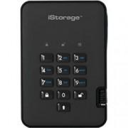iStorage 2 TB Portable Encrypted Hard Drive diskAshur 2 USB 3.1 Black