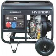 DHY8000LEK-T Hyundai Generator de curent diesel + kit de intretinere , putere 5.5 kVA , motor Hyundai