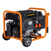 Generator curent electric pe benzina Stager GG 6300W, 5KW, sfoara