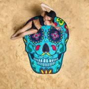 BigMouth Gigantisch strandlaken - Sugar Skull