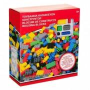 Set de constructie cu 350 piese multicolore