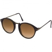 Walrus Jackson Brown Color Unisex Oval Sunglass - WS-JKSN-II-090909
