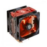 Cooler, Coolermaster Hyper 212 LED Turbo Red Top, AMD/INTEL (RR-212TR-16PR-R1)