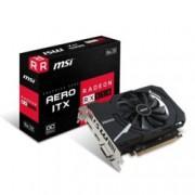 Видео карта AMD Radeon RX550, 4GB, MSI Aero ITX OC, PCI-E 3.0, GDDR5, 128 bit, DisplayPort, HDMI, DVI-D