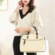 Zachte lederen een schouder Cross Body Tas handtas voor vrouwen geschikt voor laptop grootte: 11-12 inch