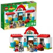 Lego Duplo Town Farm Pony Stable 10868 Building Kit (59 Piece)