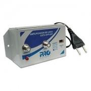 Amplificador Linha Sinal TV CFTV Video 30db PQAL3000 Proeletronic