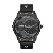 Часовник DIESEL - Mini Daddy DZ7328 Black/Gunmetal