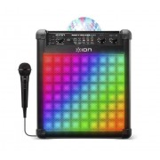 ION Party Rocker Max Wireless Rechargeable Speaker Multi-Effect Party Lights