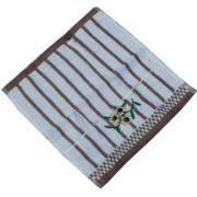 Kuber Industries Face Towel/Towel Women Velvet Handkerchief Set of 12 Pcs (Embroidry) Code-FTH06