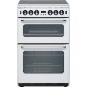 New World 550TSIDOm White Gas Cooker with Double Oven