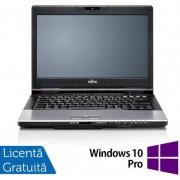 "Laptop Refurbished Fujitsu Siemens S752 (Procesor Intel® Core™ i5-3210M (3M Cache, up to 3.10 GHz), Ivy Bridge, 14"", 4GB, 320GB HDD, Intel® HD Graphics 4000, Win10 Pro, Negru)"