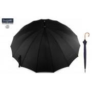 Dáždnik Bugatti® Doorman - pánsky čierny