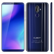 [HK Stock] CUBOT X18 Plus 4GB+64GB Dual Back Cameras Fingerprint Identification 5.99 inch Android 8.0 MTK6750T Octa-Core up to 1.5GHz Network: 4G Dual SIM (Blue)