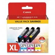 0337c005 (cli-271xl) High-Yield Ink, Cyan/magenta/yellow