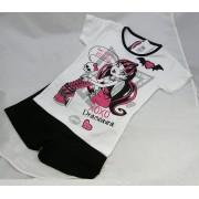 Monster High pizsama - fekete/fehér