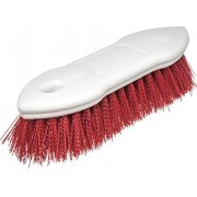"""Carlisle 4549405 Commercial Pointed End Scrub Brush, 8"""", Red"""