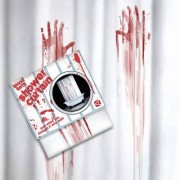 Tenda da doccia insaguinata BLOOD BATH SHOWER CURTAIN