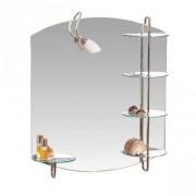 Oglinda baie cu iluminare Sanotechnik 80 x 90 | YHB05