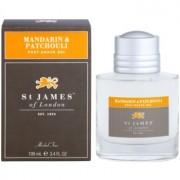 St. James Of London Mandarin & Patchouli gel after shave para hombre 100 ml