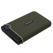 """Transcend 2TB Slim StoreJet2.5"""" Rugged Portable HDD"""