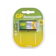 GP 1 pile NIMH 9V 200mAh rechargeable - ReCyko+