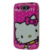 Hello Kitty Back Case for HTC Wildfire G8 - HTC Hard Case (White/Pink)
