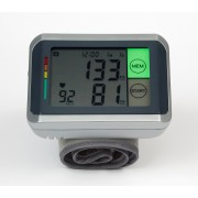 MM-4770 Talking Touch Screen Wrist Digital Blood Pressure Monitor – Multilingual