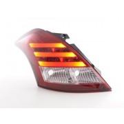 FK-Automotive Feux arriere LED Suzuki Swift Sport An. 2011-2013 rouge/clair