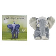 Kohls Cares Youre Here For A Reason Book @ Plush Elephant Set